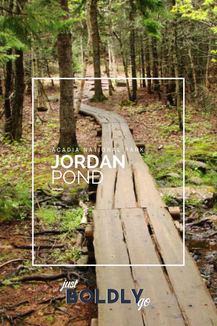 Acadia National Park – Jordan Pond