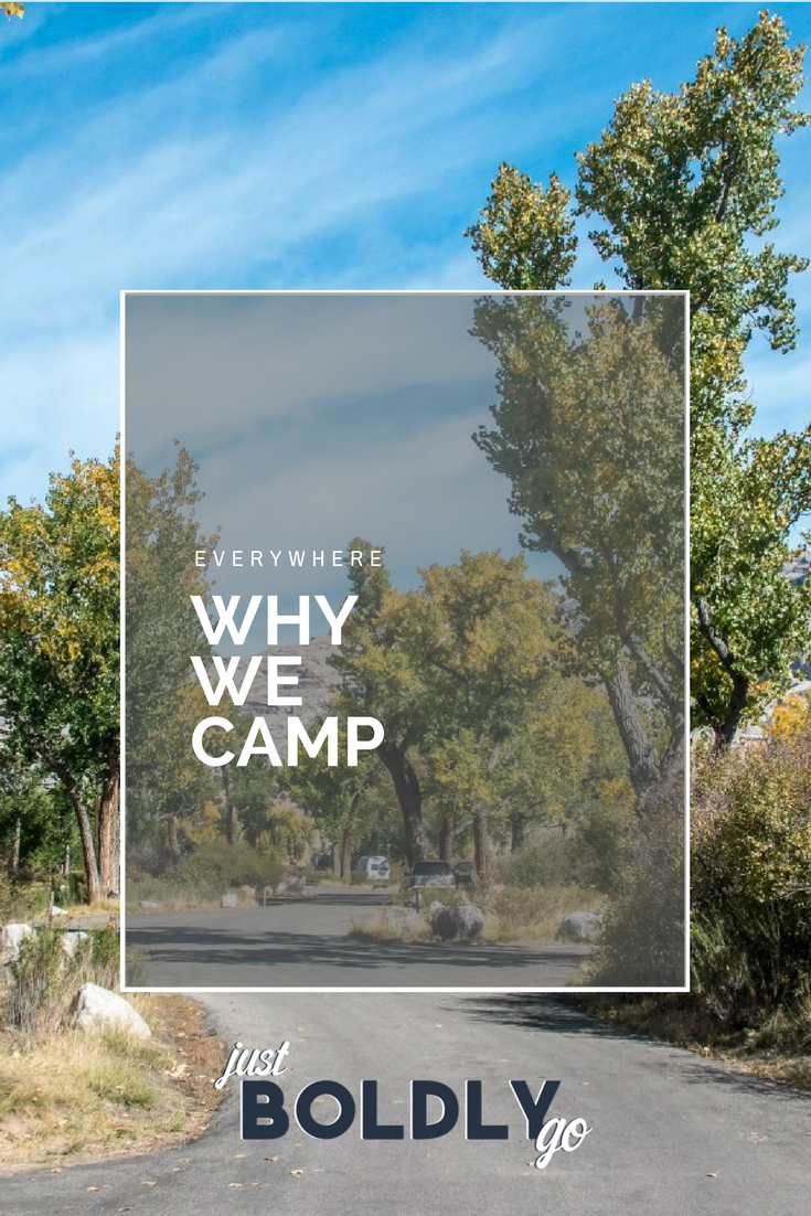 Why We Camp