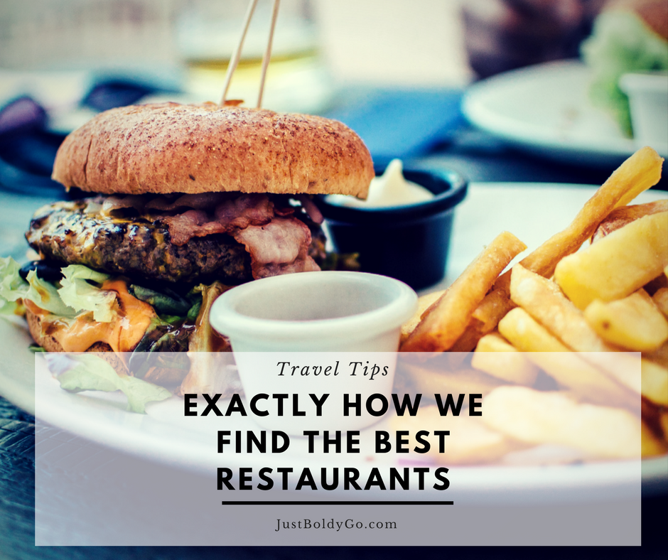 Exactly How We Find the Best Restaurants