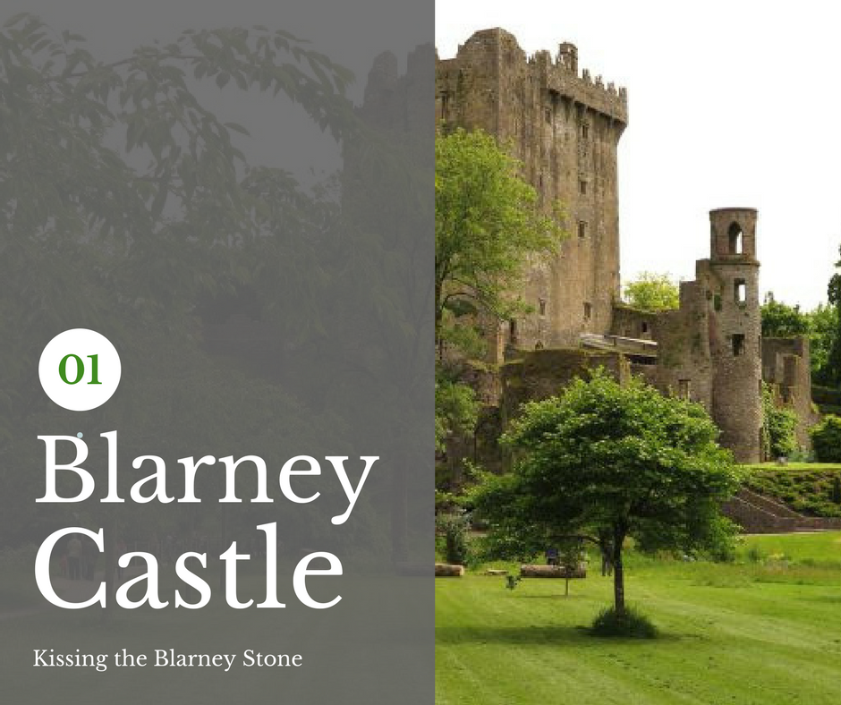 Ireland: Blarney Castle + Kissing the Stone