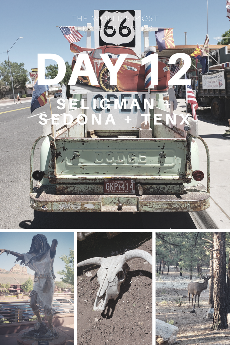 Day 12 – The World's Most Epic RV Road Trip – Seligman, Sedona & TenX