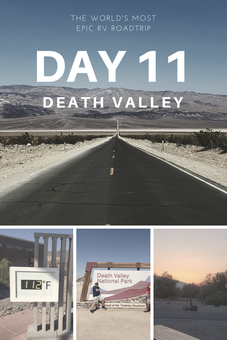 Day 11 – The World's Most Epic RV Road Trip – Death Valley