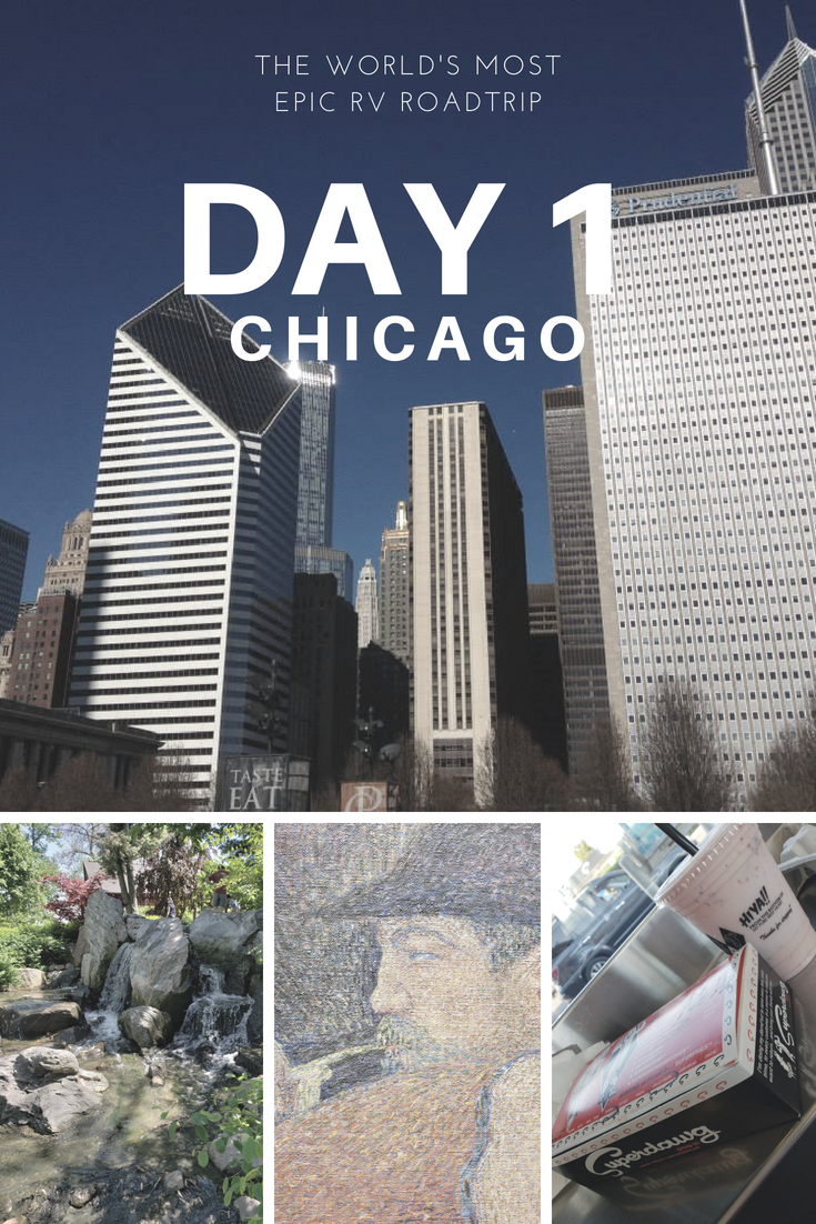 Day 1 – The World's Most Epic RV Road Trip – Chicago
