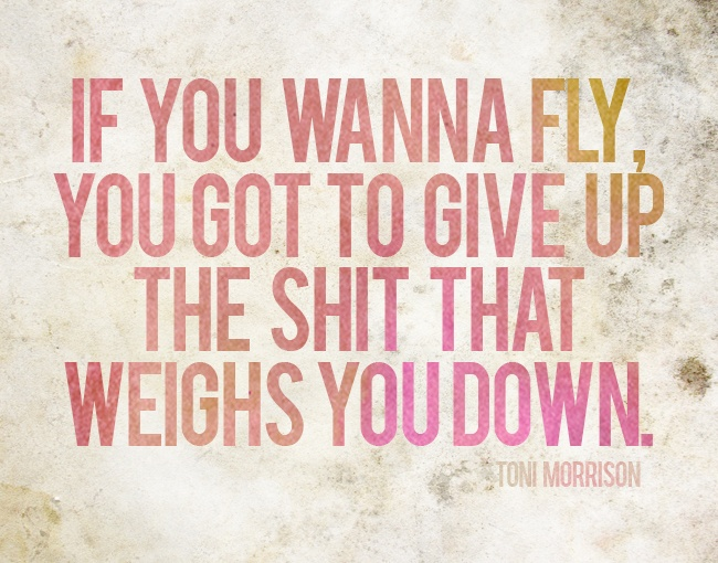 If You Want to Fly…