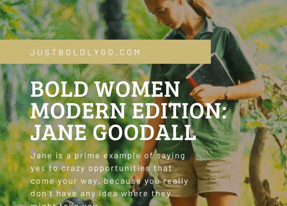 Bold Women Modern Edition: Jane Goodall