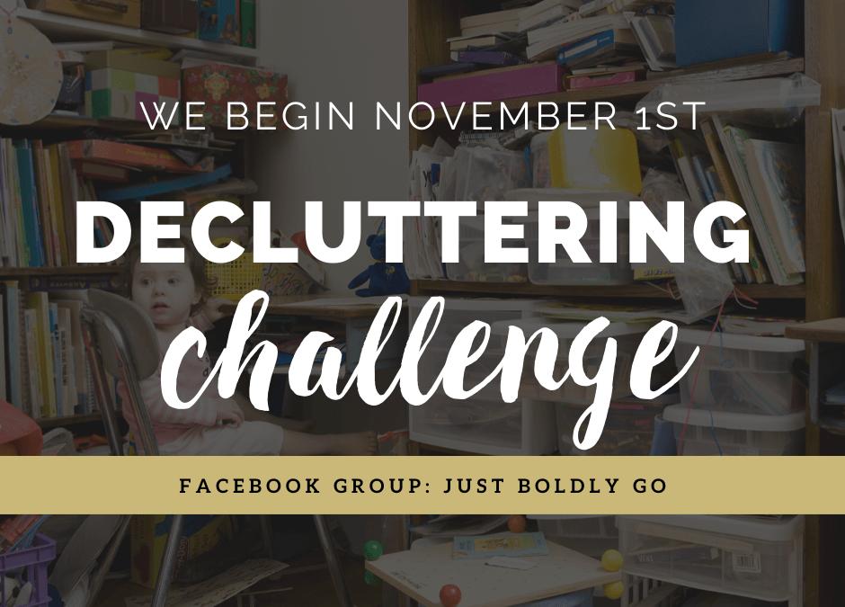 The Decluttering Challenge