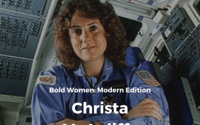 Bold Women Modern Edition: Christa McAuliffe