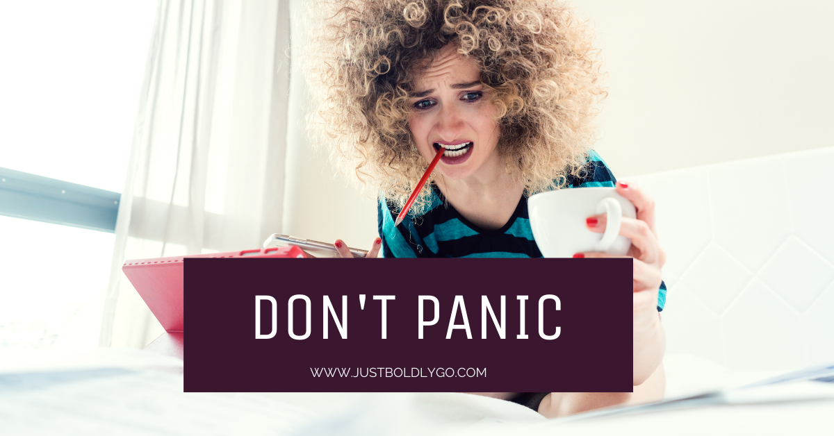 Don't Panic – Let God Handle the How